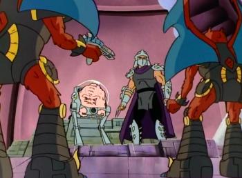 Черепашки мутанты ниндзя 1 серия