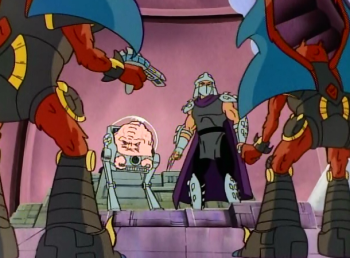 Черепашки мутанты ниндзя Шреддервиль