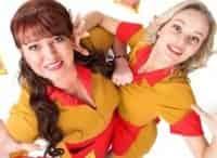 Две девицы на мели 9 серия