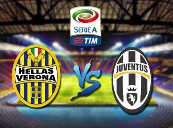 Футбол. Чемпионат Италии. Верона-Ювентус. Прямая трансляция