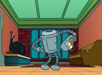 Футурама Ад - это другие роботы
