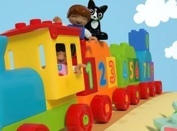Лего. Дупло Поезд: считай и играй!