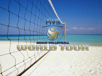 Пляжный волейбол. Мировой тур. Мужчины. 1/2 финала. Трансляция из Мексики. Прямая трансляция