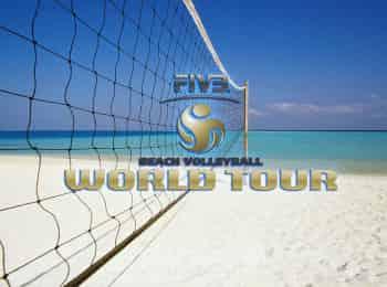 Пляжный волейбол. Мировой тур. Женщины. 1/2 финала. Трансляция из Мексики. Прямая трансляция