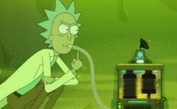 Рик и Морти Эпизод с чаном кислоты